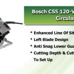 Bosch CS5 Circular Saw Features