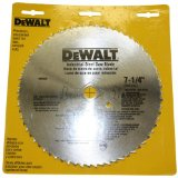 DeWalt Non-Ferrous Metal Cutting Blade Example Picture
