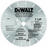 DeWalt Ferrous & Steel Metal Cutting Blade Example 2 Picture